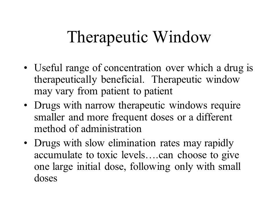 Therapeutic Window