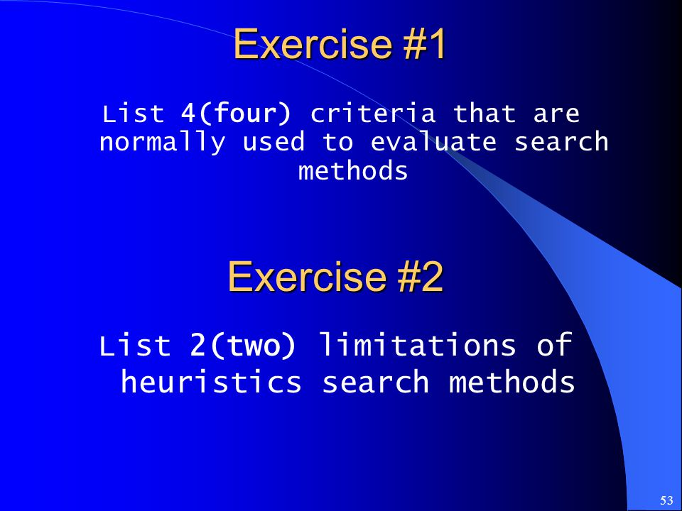List 2(two) limitations of heuristics search methods