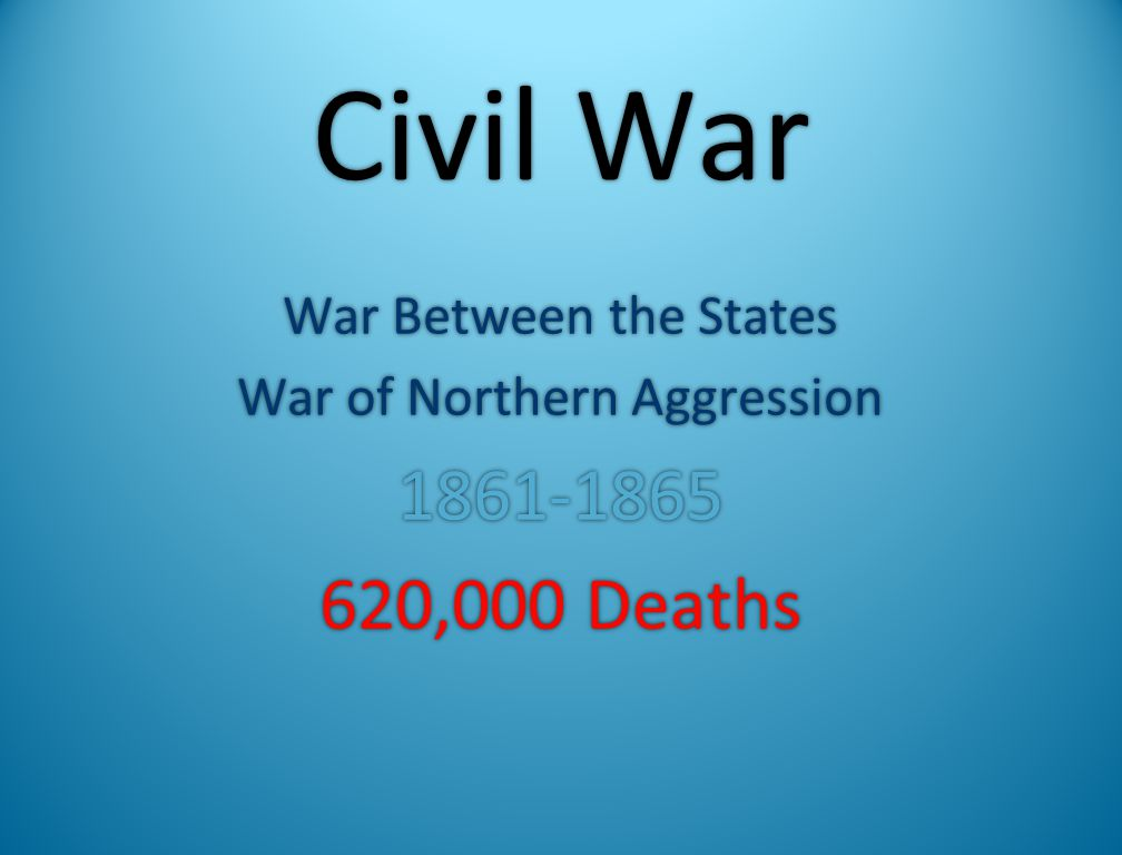 War of Northern Aggression