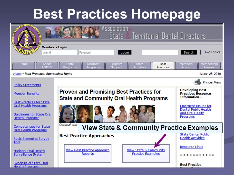 Best Practices Homepage