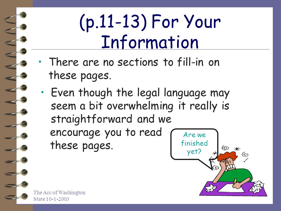 (p.11-13) For Your Information