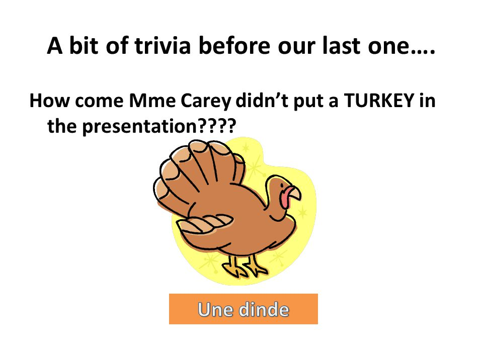 A bit of trivia before our last one….