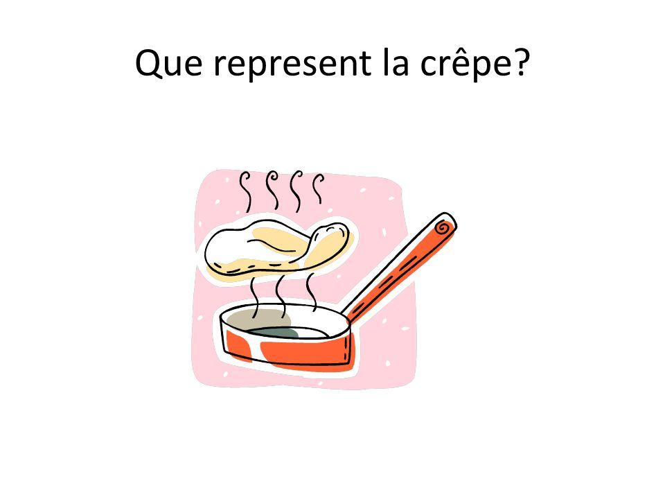 Que represent la crêpe