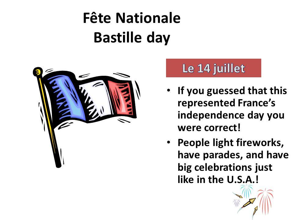 Fête Nationale Bastille day