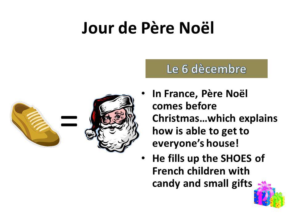 = Jour de Père Noël Le 6 dècembre