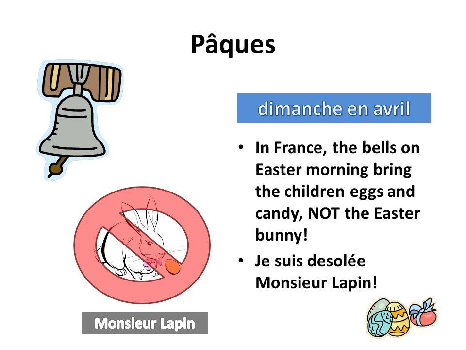 Pâques dimanche en avril