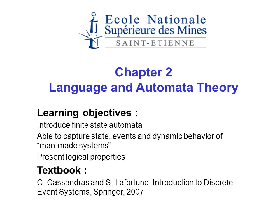 Language and Automata Theory