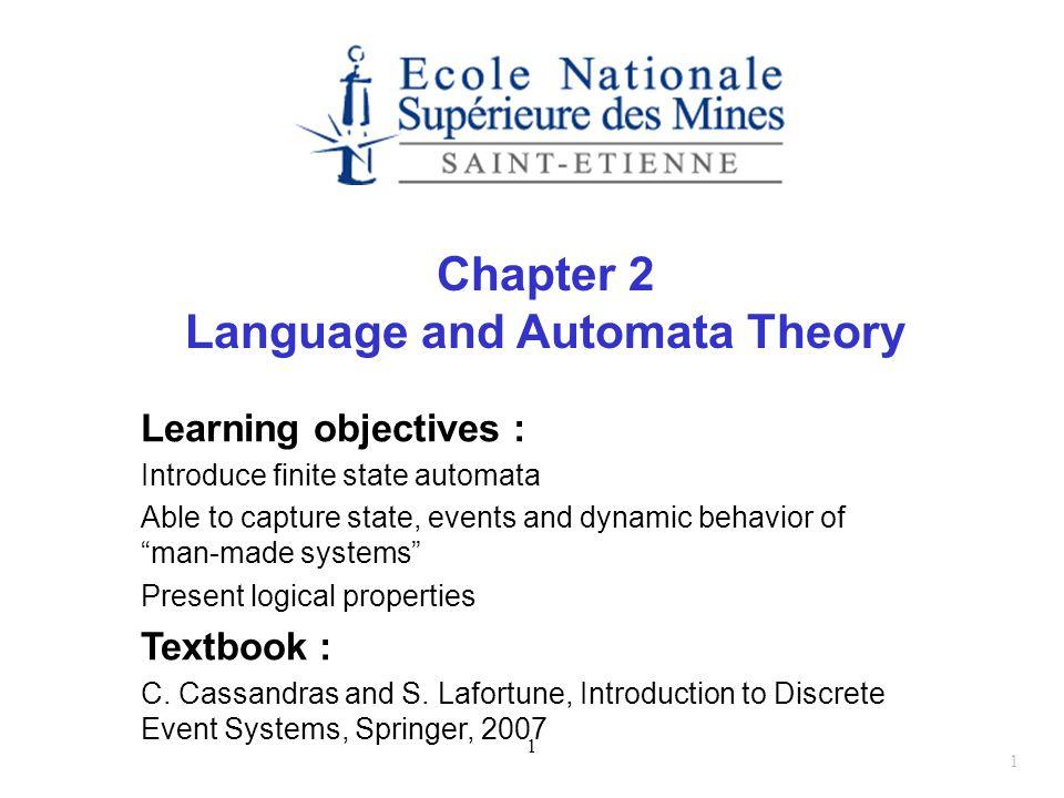Language and Automata Theory