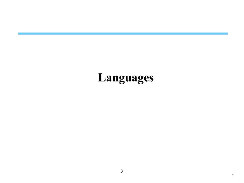 Languages 3