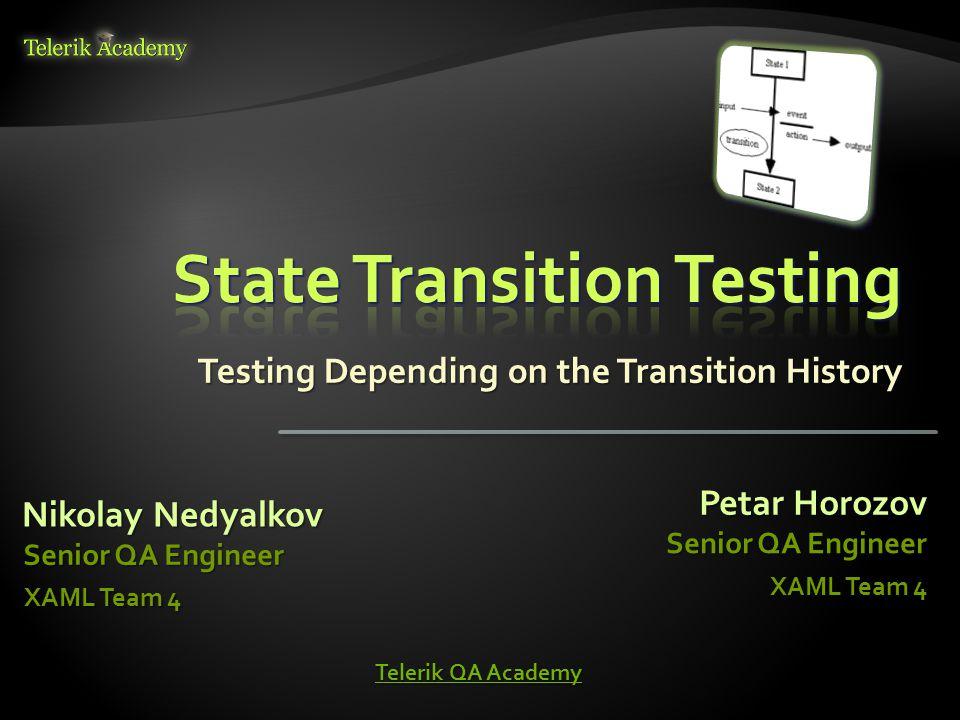State Transition Testing