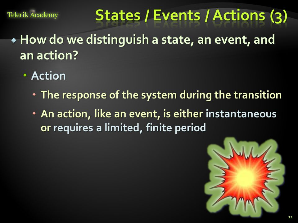 States / Events / Actions (3)