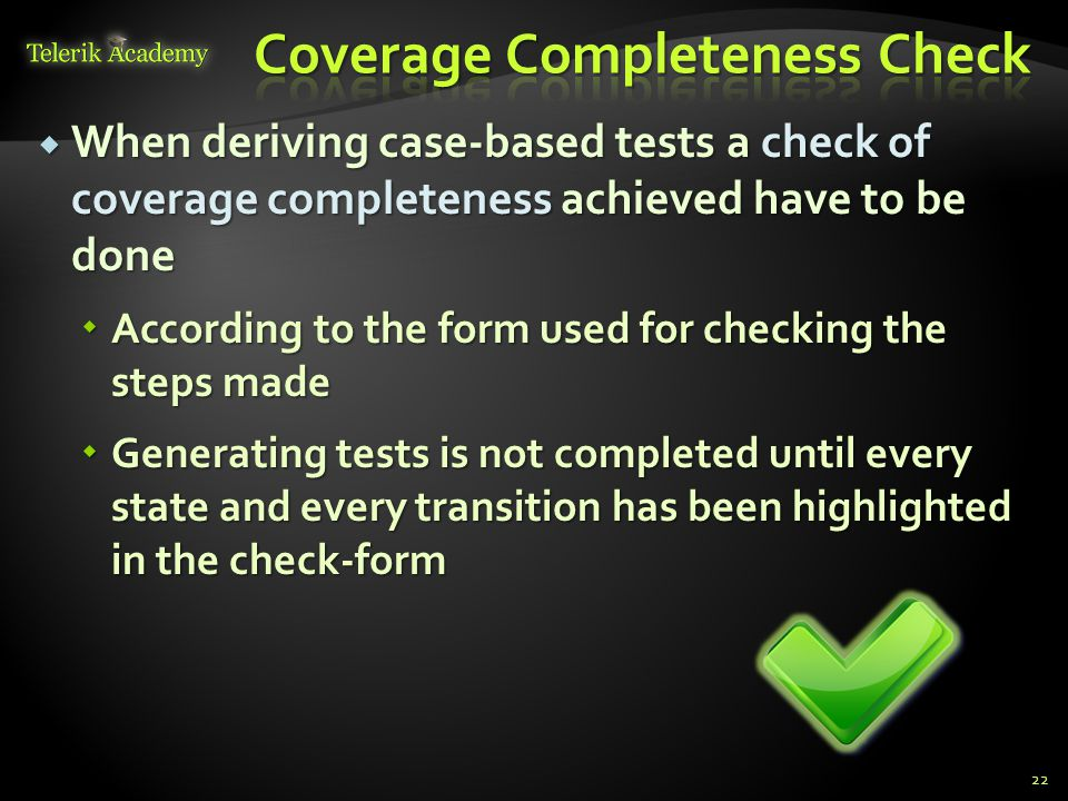 Coverage Completeness Check
