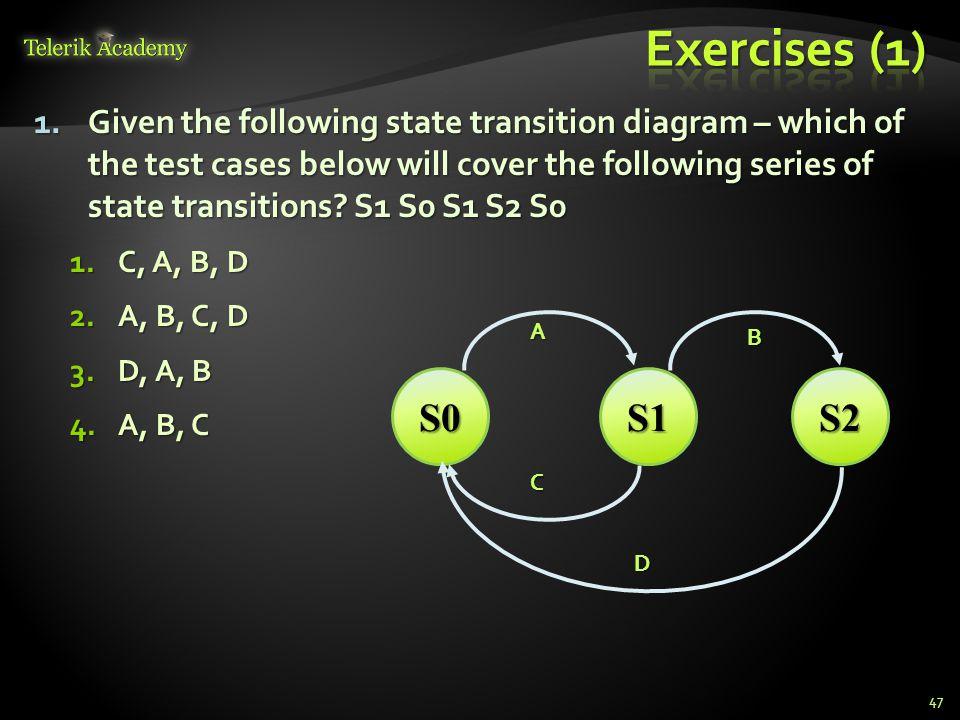 * Exercises (1)
