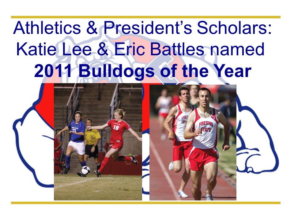 Athletics & President's Scholars: Katie Lee & Eric Battles named