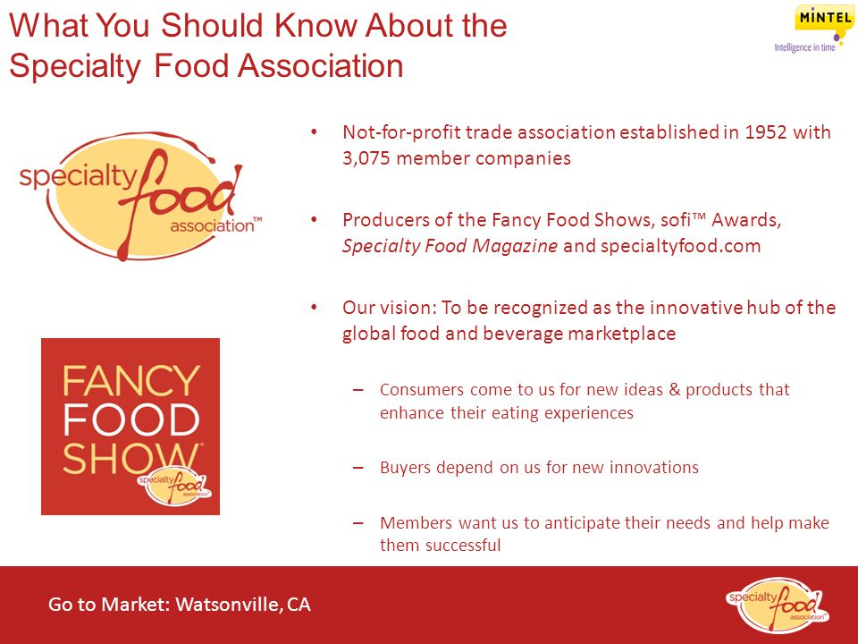 What You Should Know About the Specialty Food Association