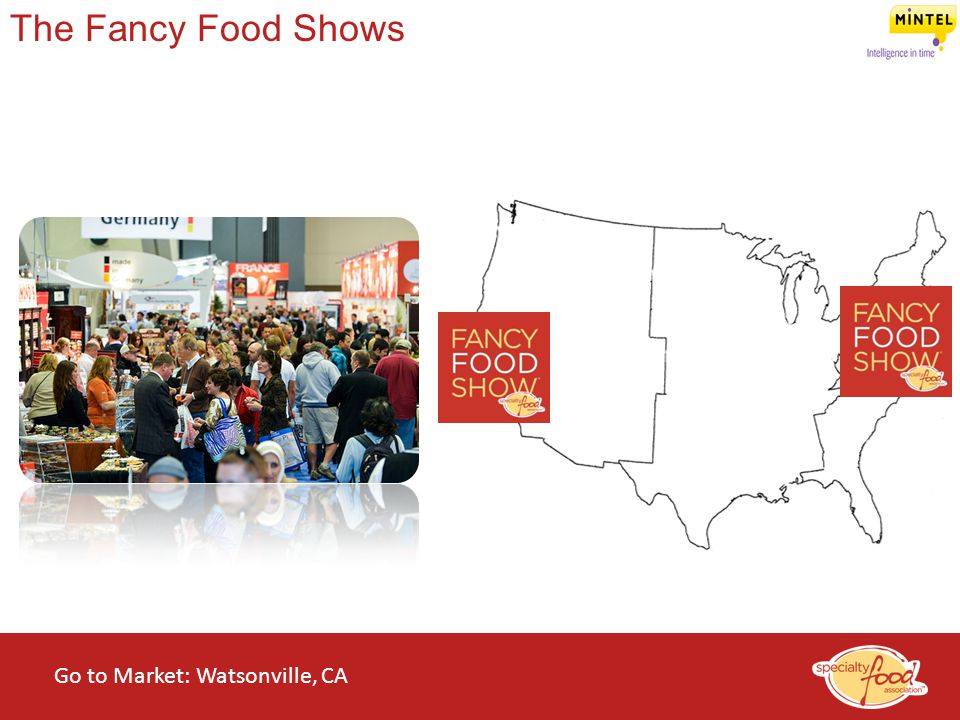 The Fancy Food Shows Go to Market: Watsonville, CA