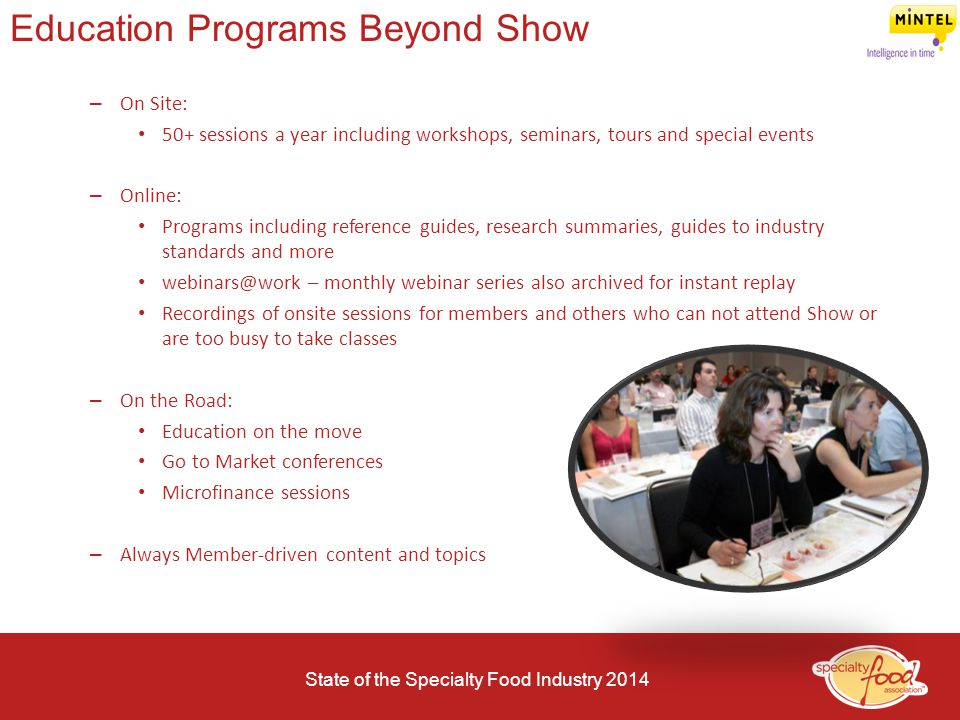 Education Programs Beyond Show