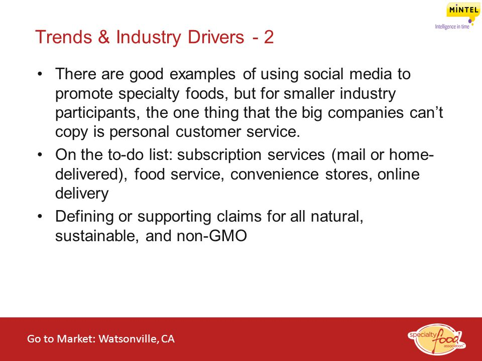 Trends & Industry Drivers - 2