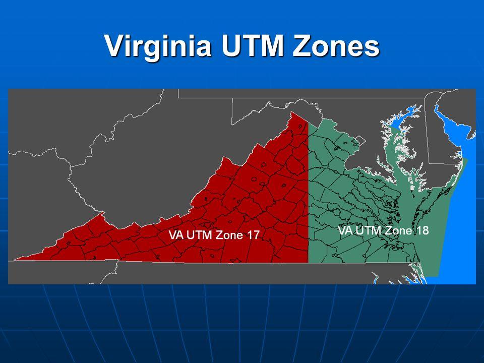 Virginia UTM Zones