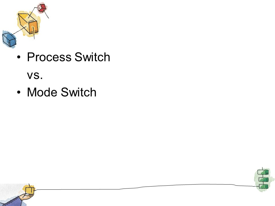 Process Switch vs. Mode Switch