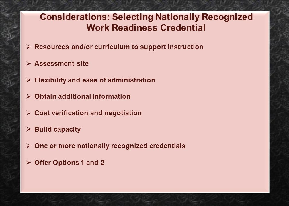 Resources and/or curriculum to support instruction Assessment site