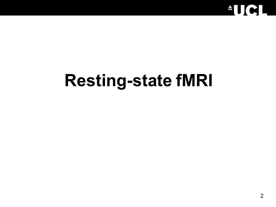 Resting-state fMRI