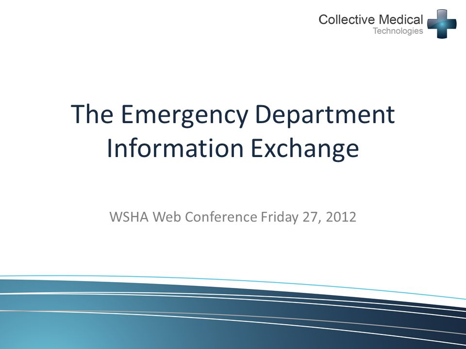 The Emergency Department Information Exchange