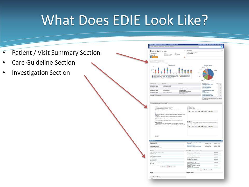 What Does EDIE Look Like