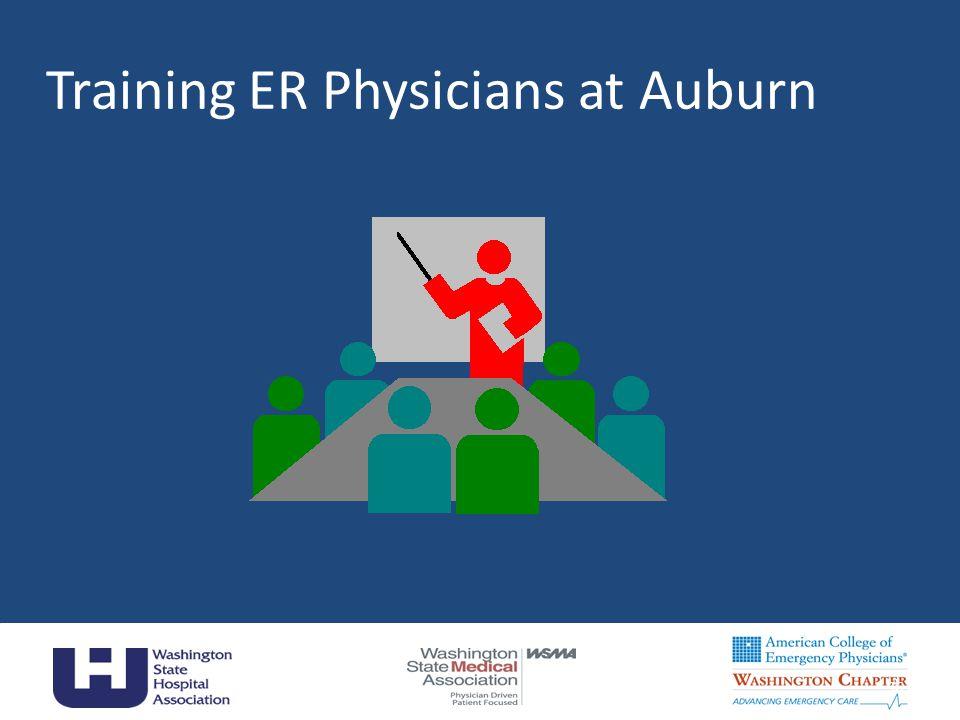 Training ER Physicians at Auburn