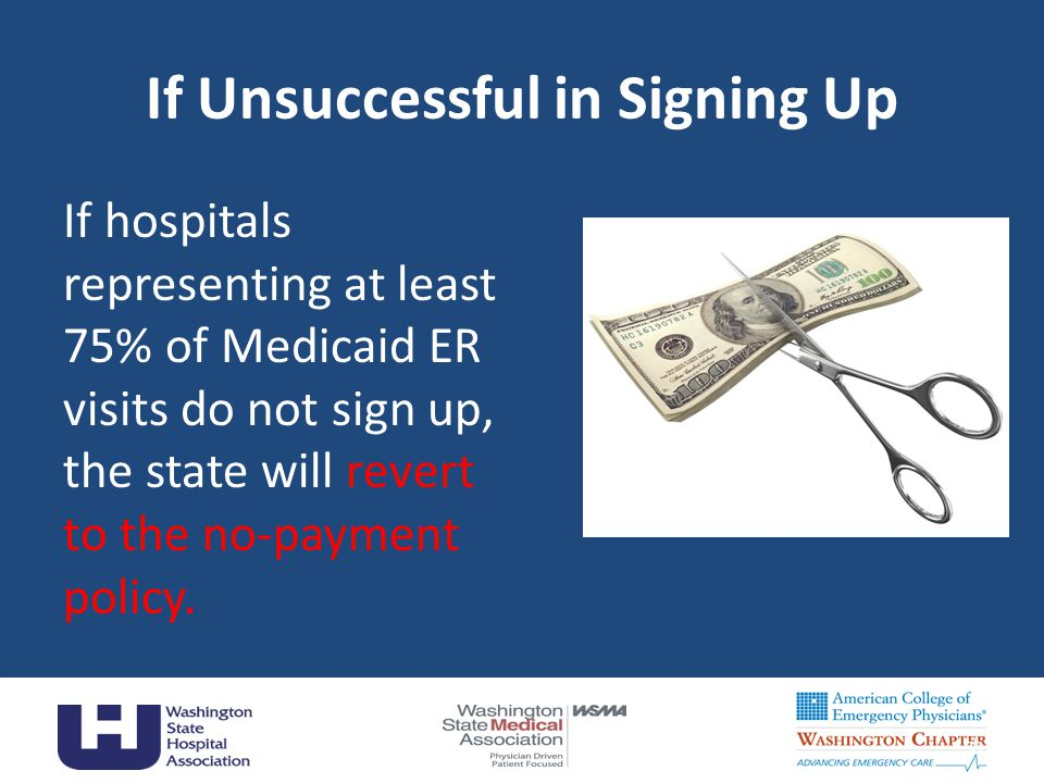 If Unsuccessful in Signing Up