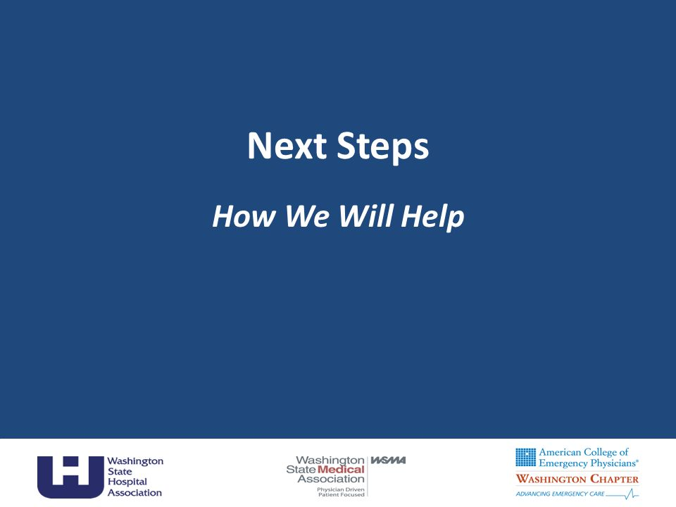 Next Steps How We Will Help Carol
