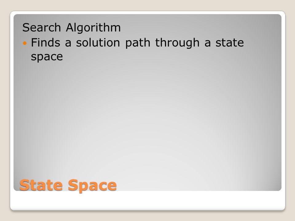 State Space Search Algorithm