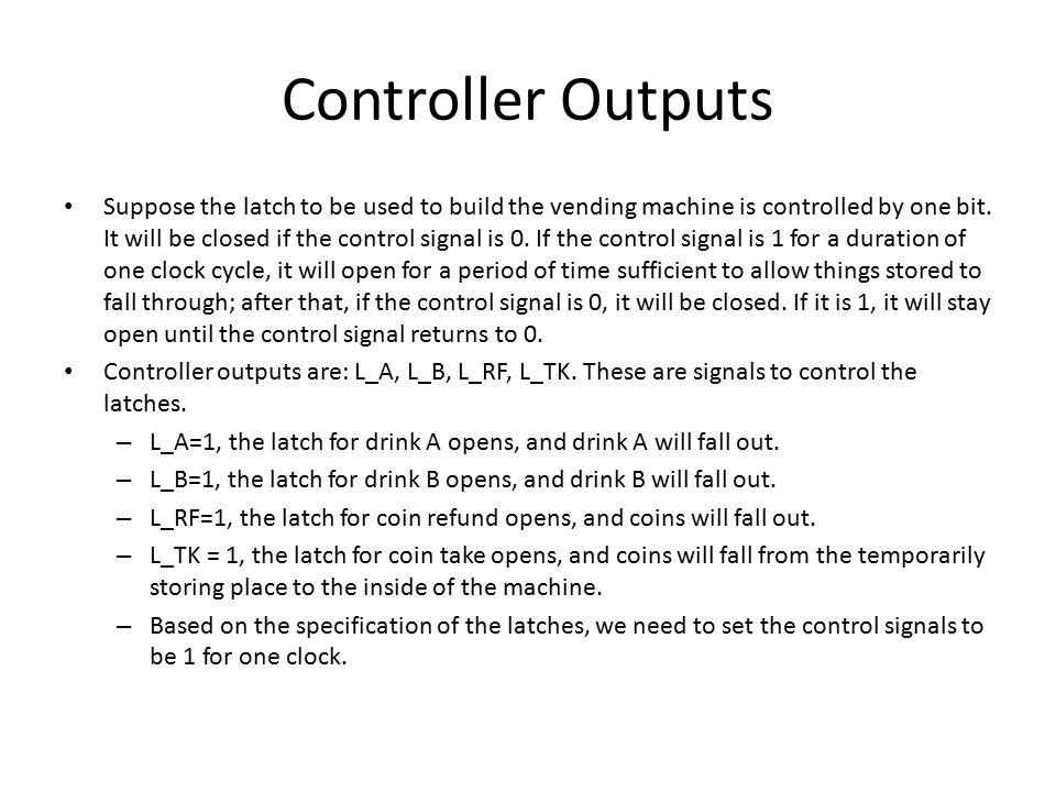 Controller Outputs