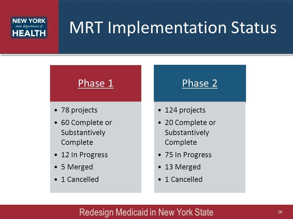 MRT Implementation Status