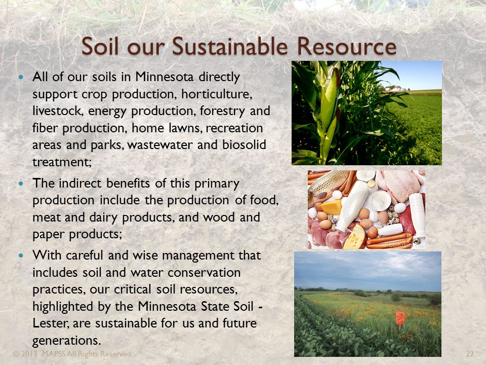 Soil our Sustainable Resource