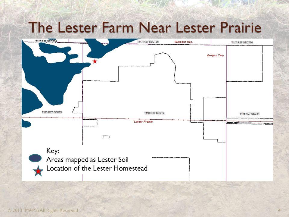 The Lester Farm Near Lester Prairie