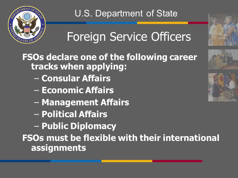 Foreign Service Officers
