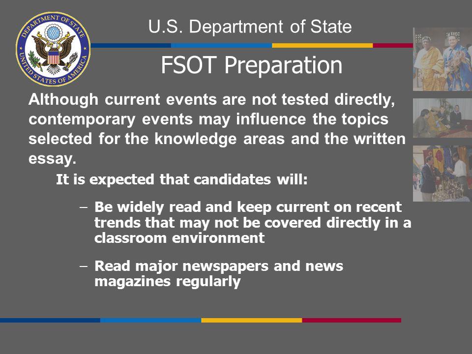FSOT Preparation