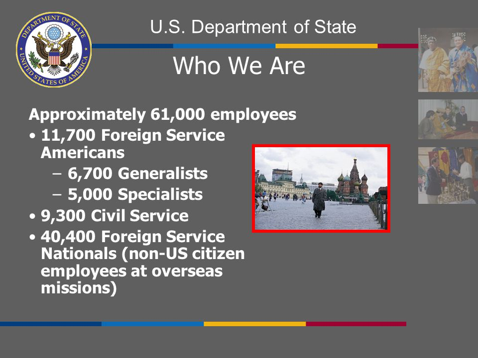 Who We Are Approximately 61,000 employees