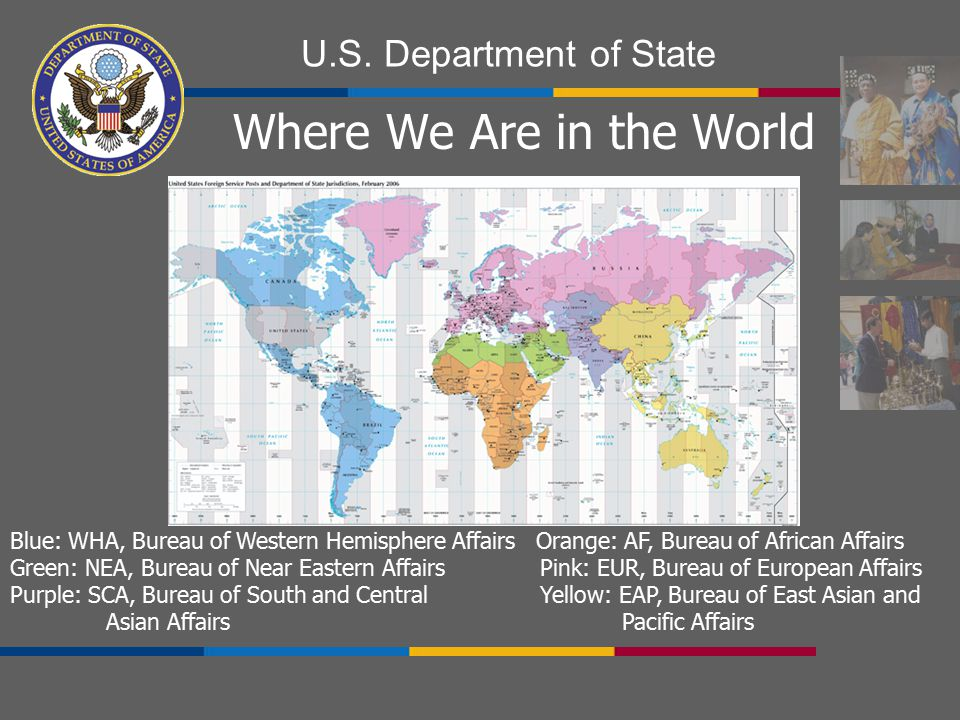 Where We Are in the World
