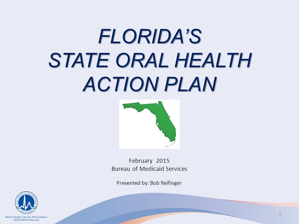 FLORIDA'S STATE ORAL HEALTH ACTION PLAN
