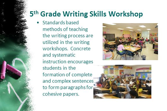 5th Grade Writing Skills Workshop