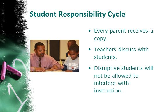 Student Responsibility Cycle