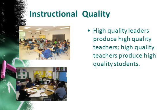 Instructional Quality