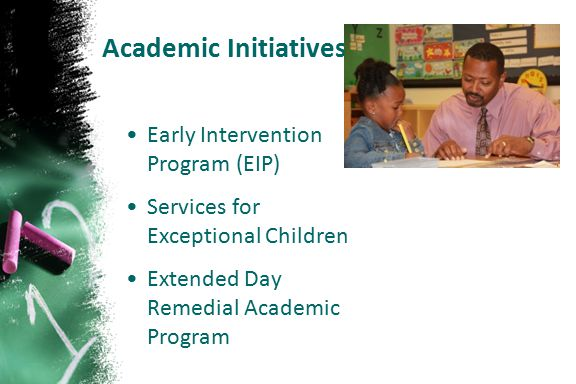 Academic Initiatives Early Intervention Program (EIP)
