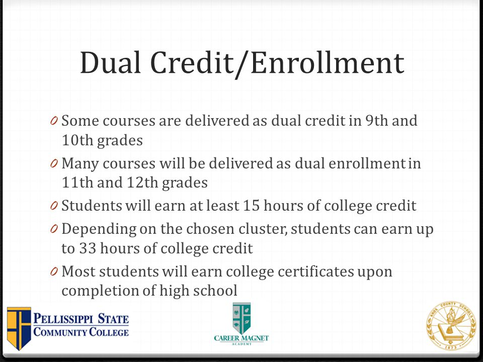 Dual Credit/Enrollment