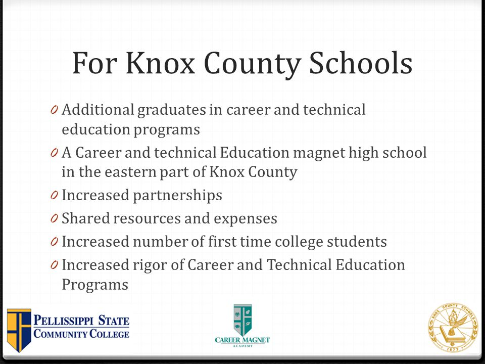 For Knox County Schools