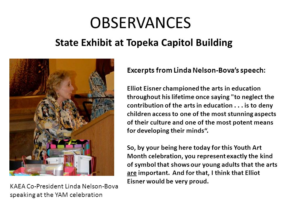 State Exhibit at Topeka Capitol Building