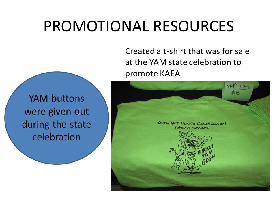 PROMOTIONAL RESOURCES