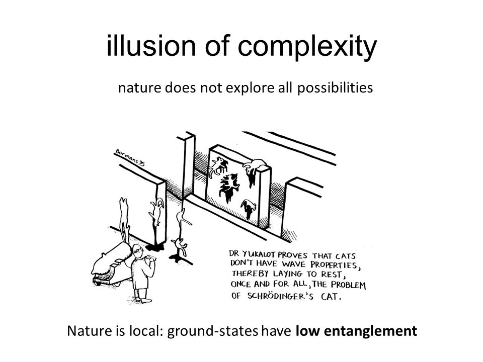 illusion of complexity